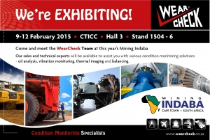 We're exhibiting – Mining Indaba 2015!