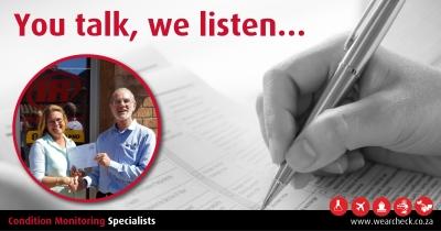 You talk, we listen…