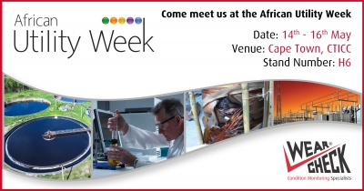 We'll be at African Utility Week 2019