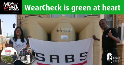 WearCheck is green at heart
