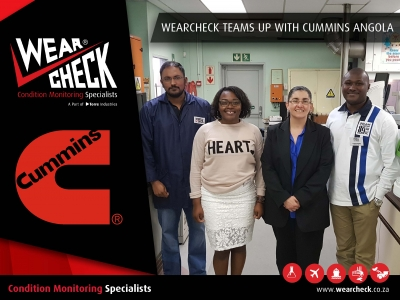 WearCheck Teams Up With Cummins Angola