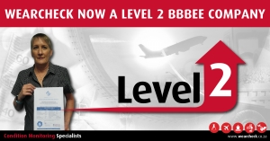 WearCheck now a level 2 BBBEE company