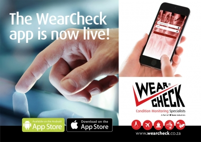 WearCheck pioneers condition monitoring app