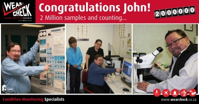 Two million samples and counting