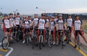 WearCheck riders saddle up for 94.7 cycle race