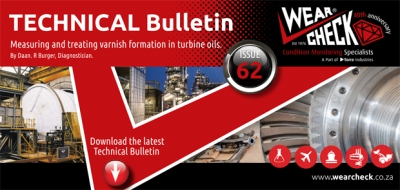 Technical Bulletin 62: Measuring and treating varnish formation in turbine oils