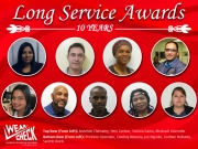 Long Service: 10 year tenure