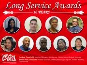 Long Service: 10 year tenure