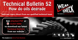 Technical Bulletin 52: How do oils degrade