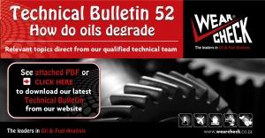 Technical Bulletin 52: How do oils degrade
